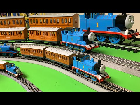 THOMAS, ANNIE & CLARABEL – N, OO, HO, O, G Scale Thomas and Friends! Trains!