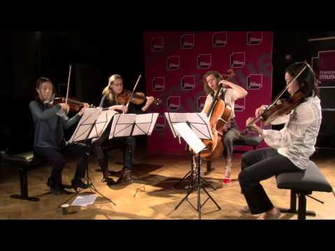 Anton Reicha : Quatuor Op.90 n°2, par le Quatuor Ardeo