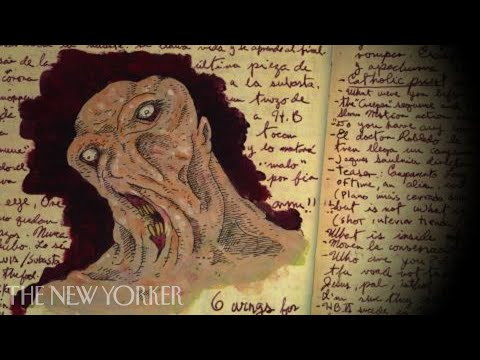 Guillermo del Toro's sketchbooks  Commentary The New Yorker