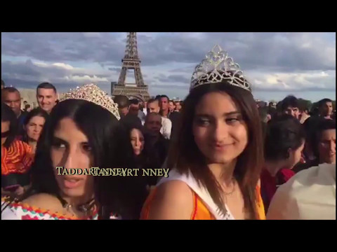 Akli D, journée de la robe kabyle, Paris, Trocadero, 14 mai 2017