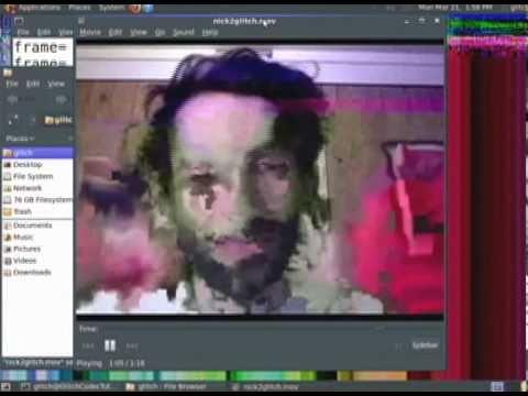 Glitch Codec Tutorial [glitch art demo] 5/6