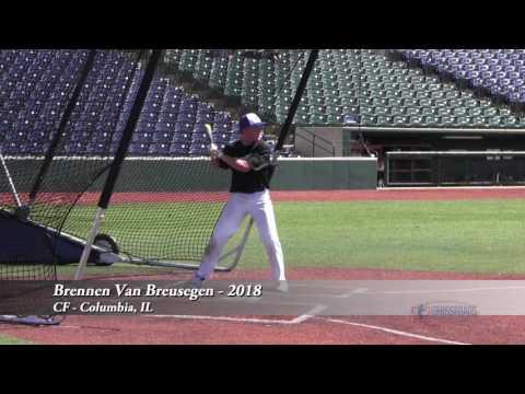 Brennen Van Breusegen - CF - Columbia, IL - 2018