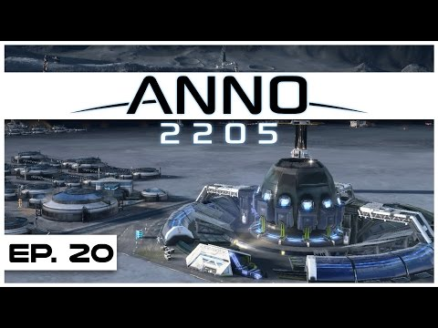 Anno 2205 - Ep. 20 - Fusion Reactor Online! - Let's Play - Anno 2205 Gameplay