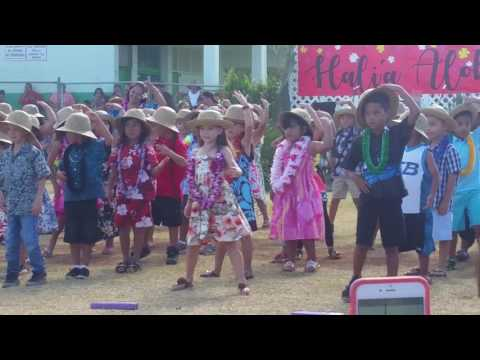 Maili elementary school Mayday program 2017