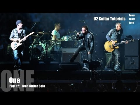 Part 12:  One (U2 Guitar Tutorial) - Lead Guitar Solo