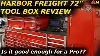 "Harbor Freight 72"" Tool Box 