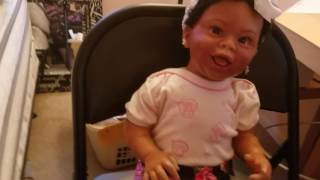 Krystalyn is fully potty trained, yay!