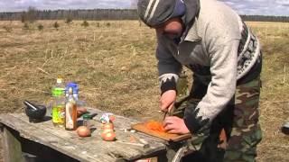 Вальдшнеп с весенними травами рецепт