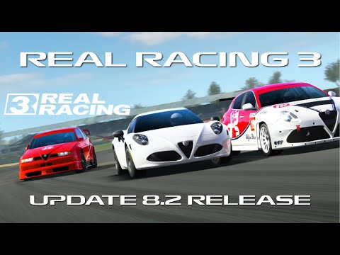 Real Racing 3 Update 8.2 Release