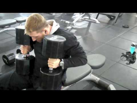 Natural Pro Justin Draper Dumbell Press