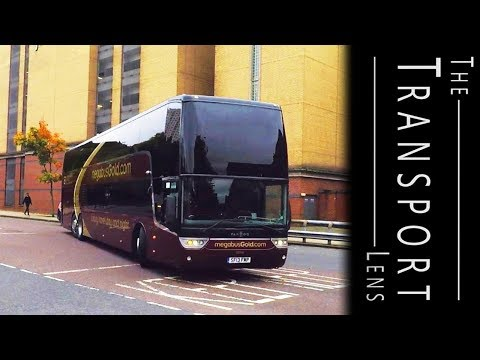 Stagecoach Express And Megabus Buses In Glasgow - October 2017
