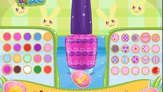 Barbie Video Game - Barbie Easter Nails Designer - Cutezee.com