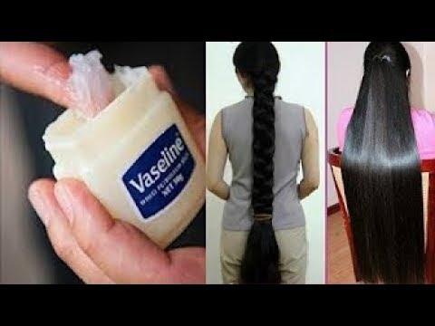 كيفية استخدام الفازلين لتطويل  الشعر  2سنتيميتر  فى اليوم /سريع ومذهل للغاية