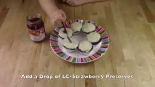 How To Make Low Carb Neapolitan Cupcakes