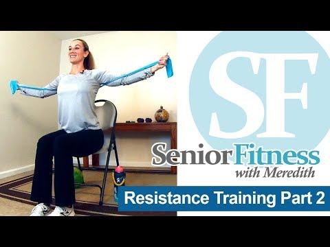 Senior Fitness - Resistance Band Exercises for Seniors