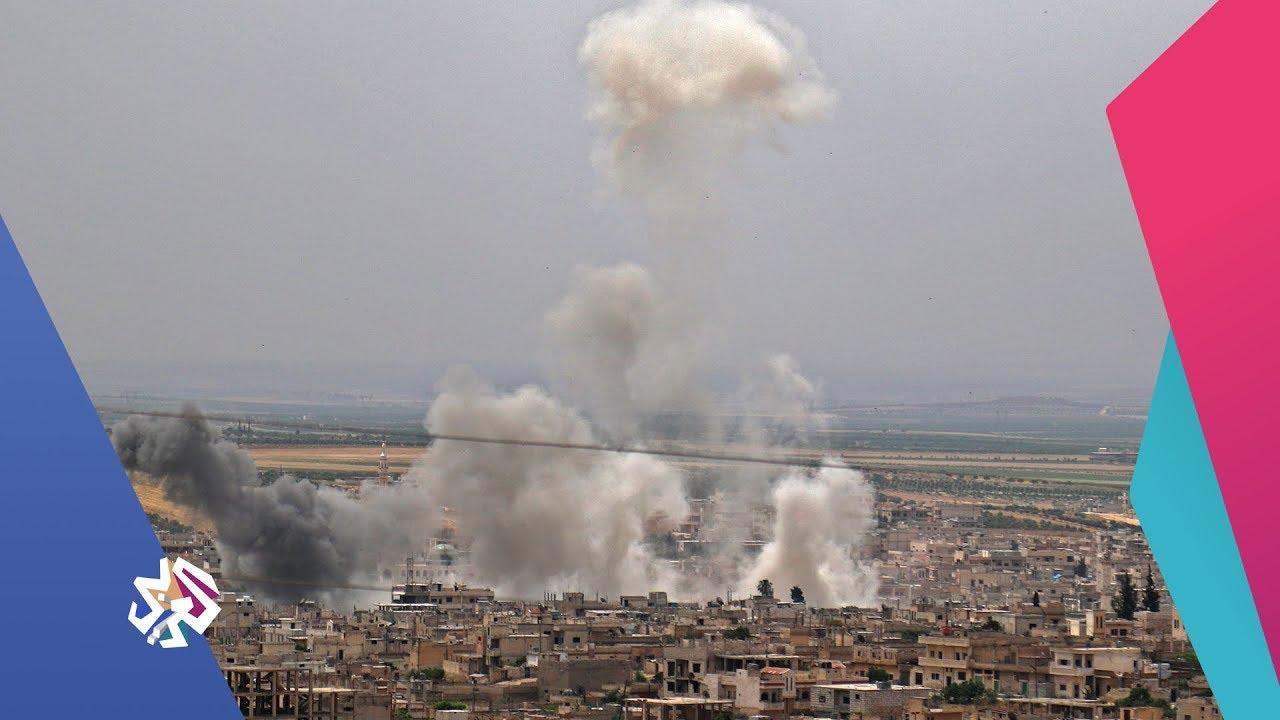 قناة العربي:العربي اليوم | سوريا .. إدلب تحت القصف