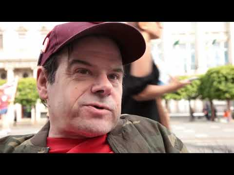 Disability activist Tony Barry urges everyone to Vote NO