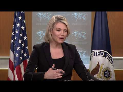 Department Press Briefing - March 27, 2018