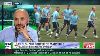 After Foot du jeudi 27/07 – Partie 2/4 - Ligue Europa: Débrief de Marseille/Ostende (4-2)