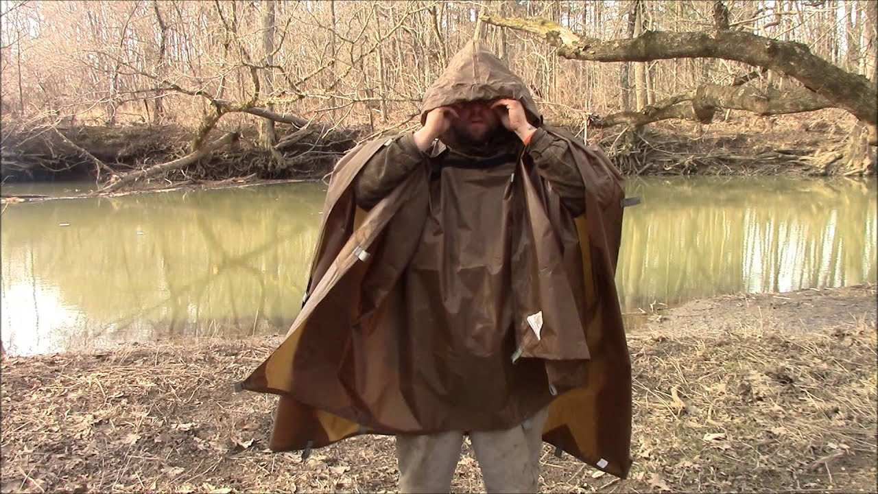 Review On The The Pathfinder Tarp Poncho Youtube