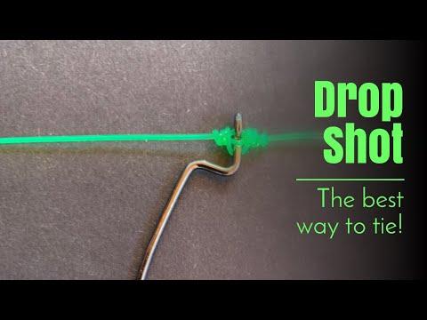Best Way To Tie A Drop Shot Rig!