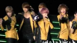 110715 Korean Music Wave 2011 SG - 창조 Supa Luv