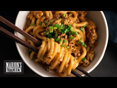 Quick Chicken and Peanut Udon - Marion's Kitchen