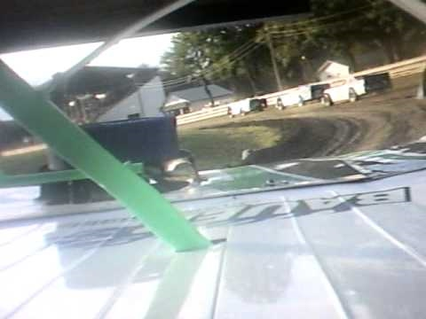 Bryce Davis at Little Valley Speedway In-car camera