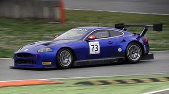 Emil Frey Jaguar XKR-S GT3 Sound In Action On Track & Tyre Change Practice