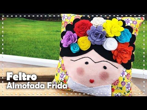 ALMOFADA FRIDA KAHLO com Lígia Santana - Programa Arte Brasil - 09/08/2017