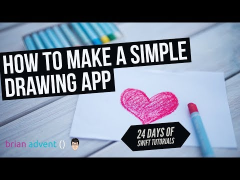 How to Make a Simple Drawing App - 1/24 Days of Swift