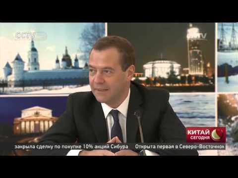 Премьер-министр РФ Дмитрий Медведев встретился с представителями китайской интеллигенции
