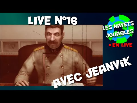 Live n°16 - Soirée soviétique avec Jeanvik !