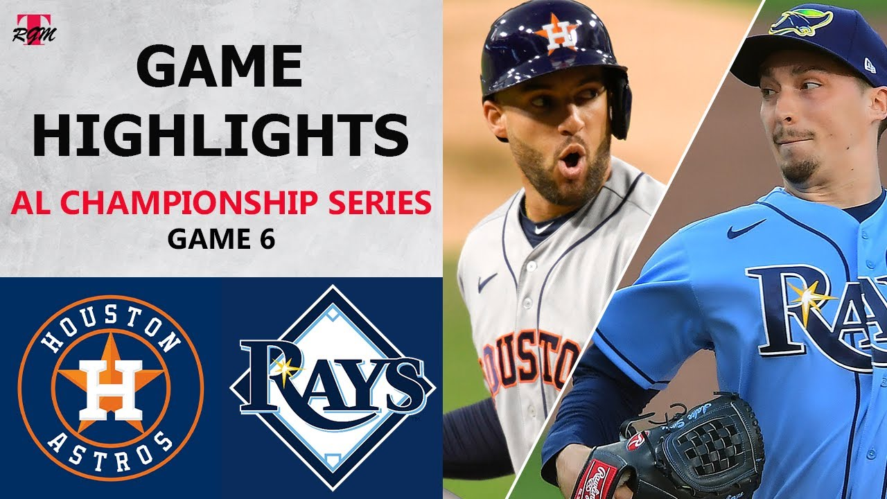 Houston Astros vs. Tampa Bay Rays Game 6 Highlights | ALCS (2020)