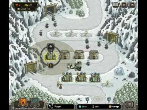 Kingdom Rush - Level 7 (Iron Challenge) - Coldstep Mines