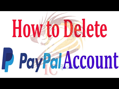 How To Delete My PayPal Account (2017.)