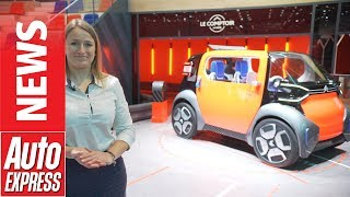 Citroen Ami One Concept –a Futuristic Quadricycle Inspired By The 2cv
