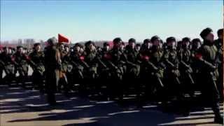 ロシア連邦軍閲兵訓練 RUSSIAN ARMY PARADE