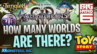Kingdom Hearts 3 - How Many Worlds Will There Be?