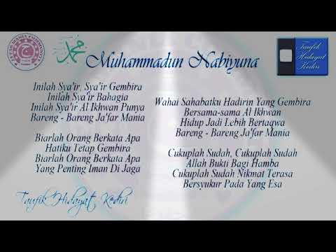 Lirik Sholawat Muhammadun Nabiyuna