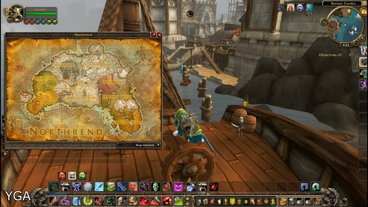 Hyde on how to get to Northrend from Stormwind