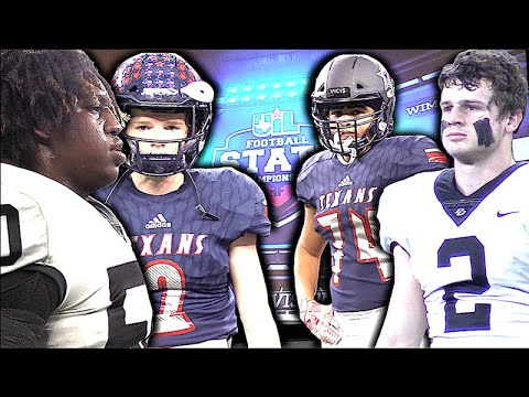 Game led by Powerful Rushing Attack ????| Texarkana Pleasant Grove v Wimberley | Texas 4A Division II