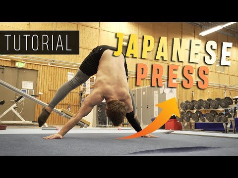 Japanese Press to Handstand Tutorial -  Progressions and tips!