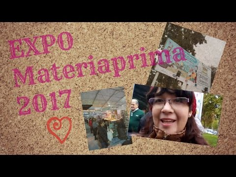 Expo Materiaprima 2017// VBLOG #3 Nos vamos de compras!!