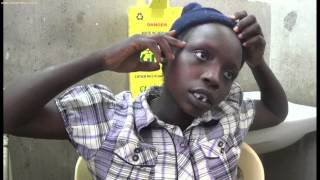 4 Day Old Child Cut Across The Mouth At Birth In West Pokot