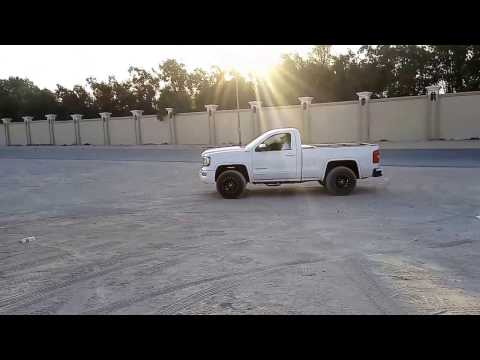 GMC Pickup truck exhaust sound | Dubai