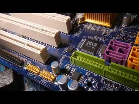how to fix static motherboard