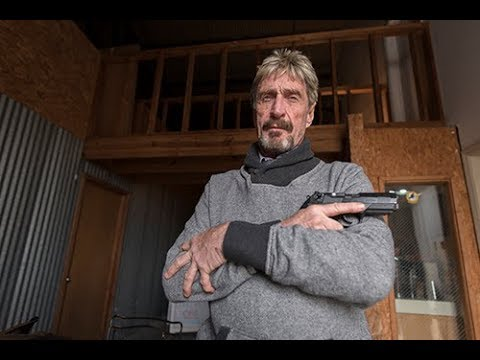John McAfee is very sick