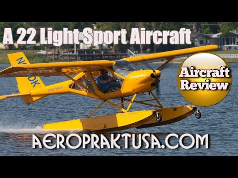 Aeroprakt A22  light sport aircraft review Midwest LSA Expo Mt  Vernon Illinois