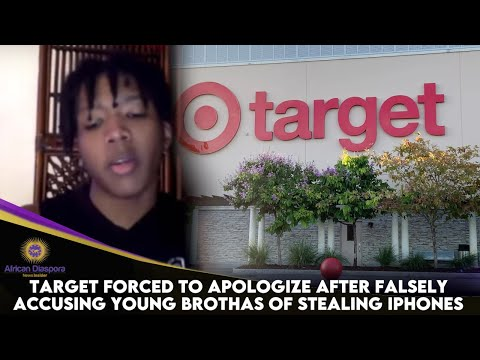 Target Forced To Apologize After Falsely Accusing Young Brothas Of Stealing iPhones